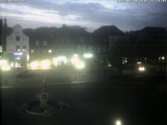 Webcam Husum Marktplatz