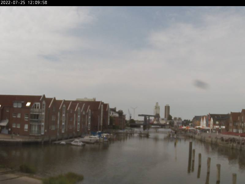 Webcam Husum Hafen Slipanlage